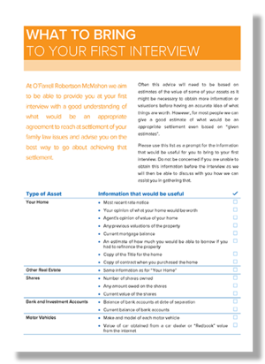 What to Bring to Your First Interview