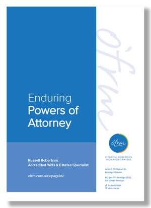 Enduring Powers of Attorney Guide