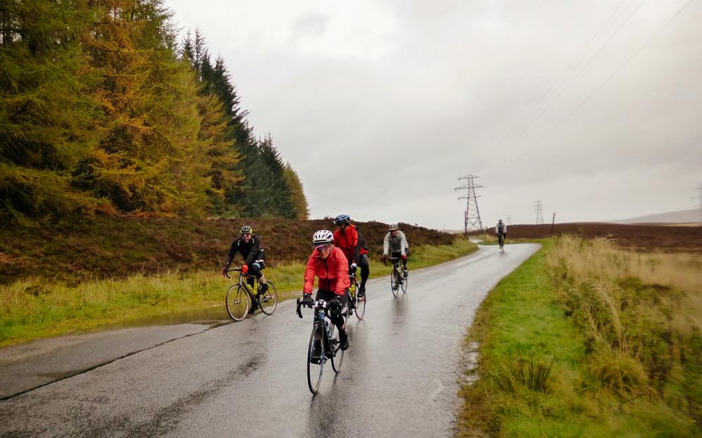 Riding come wind, rain or shine