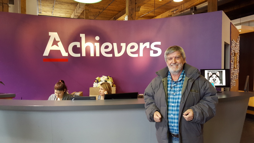 Burckhardt at Achievers, obviously!