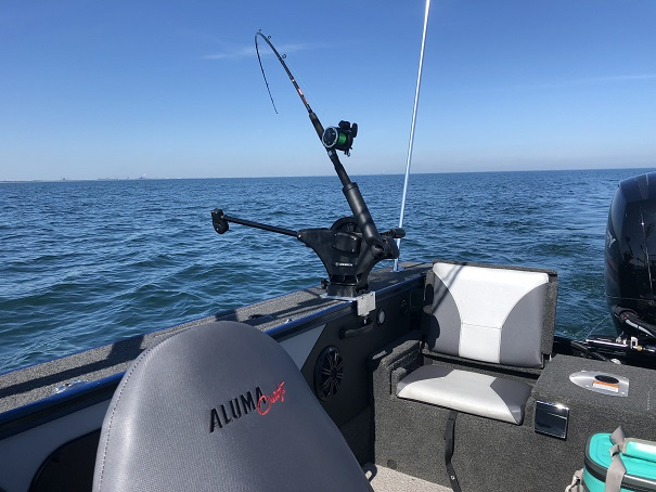 Perfect-Fit Alumacraft Downrigger Mount