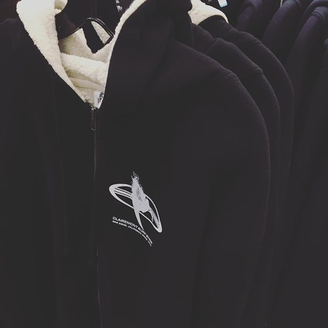 Stay warm out there with a sherpa lined CSS hoodie 🌧🌧🌧 #clairemontsurf
