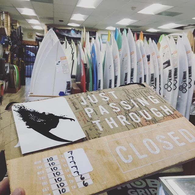 NOW OPEN TILL 7 ! M-F #clairemontsurf