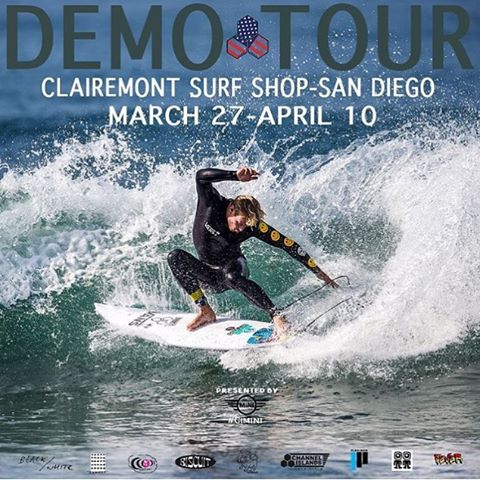 Get ready to test out some of CI's finest models next week! Come demo and dial in a board with us! #cisurfboards #clairemontsurf #demoweek