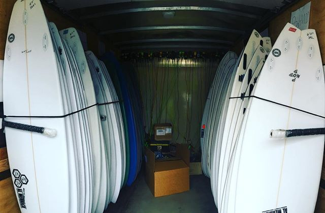 Fevers, Twin fins, Bonzers & more! Come Demo a CI at #theshop now ! Special Promotion running all demo long! Come by and ask us about it! #clairemontsurf #demoweek #cisurfboards
