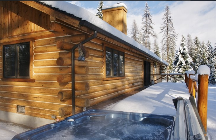 Jump in the Hot Tub after a long day of Mushing! Contact Five Star Rentals for more info.