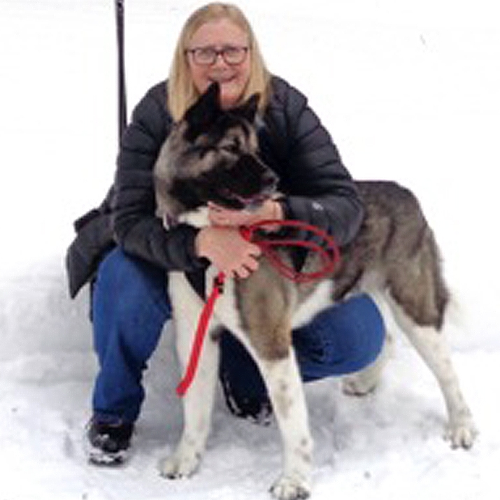 "Pam Beckstrom My passions are skijoring, dog mushing, writing, teaching girls, gardening, canning, hiking and spending time with my family.   I got my start driving a team down McDonald Pass and offered to help with Race to the Sky 32 years ago and I'm still on the board of directors and the only Race Secretary Race to the Sky has ever had.  I've written numerous articles about dog mushing for state, national and international publications, authored ""Twenty Years and Still Going to the Dogs"" and wrote the Dog Mushing Educational Book for Montana schools.  My house dogs have consisted of rescued Akitas and I'm proud to say, they have all become amazing skijoring dogs.  My husband, Jack and I own Adanac Sleds and Equipment, a mushing manufacturing web-based company which was founded in 1976.  In a few words, ""Our life has always been richer because of our dogs."""