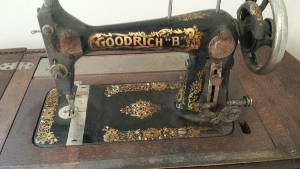 Tanner's Great Grandmother's Sewing Machine