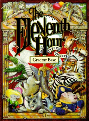 "behindthebloom :     November is Picture Book Month! Bloomsbury is celebrating by sharing some of our staff's favorite picture books.   THE ELEVENTH HOUR is Meredith Rich's pick. Our Digital Editor for Bloomsbury Spark says, "" I still love this book because I always discover something new every time I read it. As a kid the lush drawings and smart mystery always made me feel like a brilliant sleuth for seeing things that my younger brother had missed…though he always enjoyed it too!"""