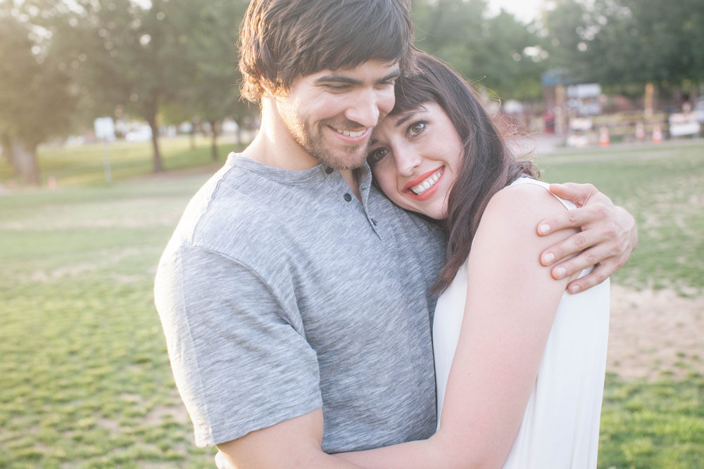 Edgy Phoenix Lifestyle Engagement Session
