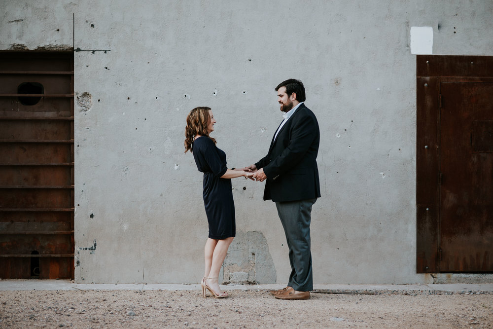 Tempe Farmers Market Sunrise Engagement Session