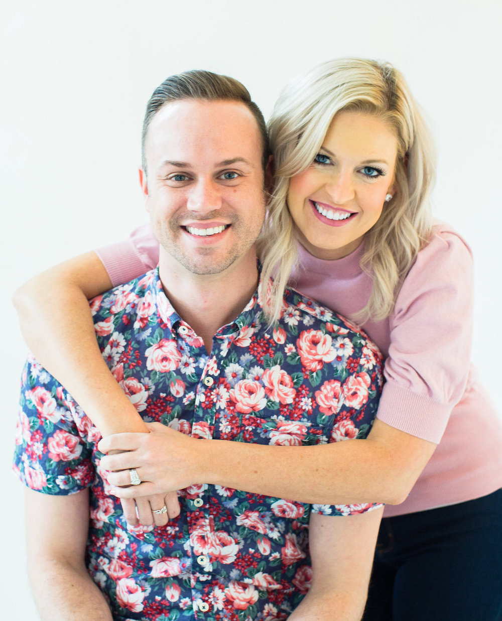 we're the husband & wife wedding planning duo -