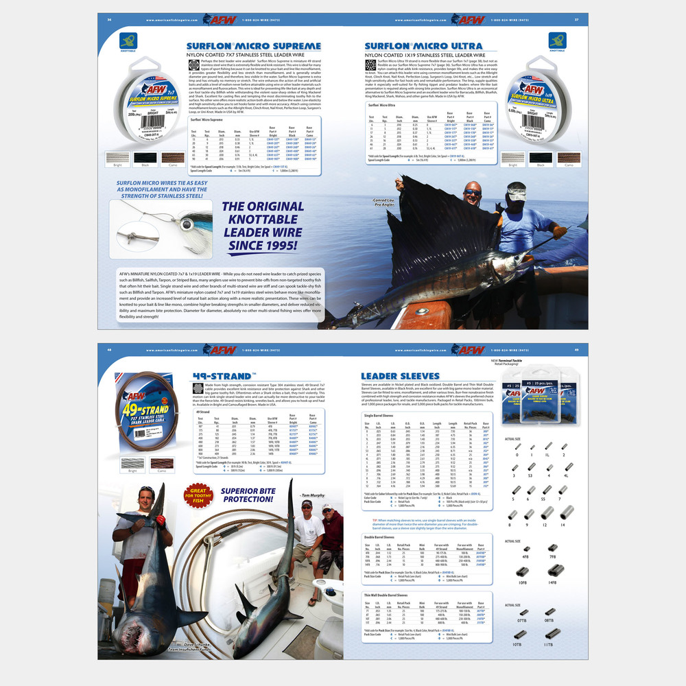 Catalog Spread Layouts