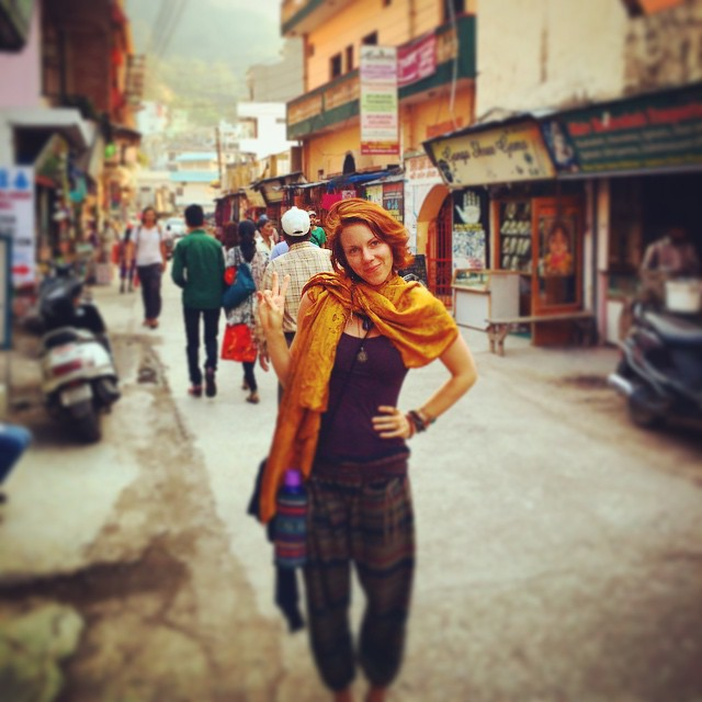 Backpacking in Rishikesh, India! Such an amazing experience.