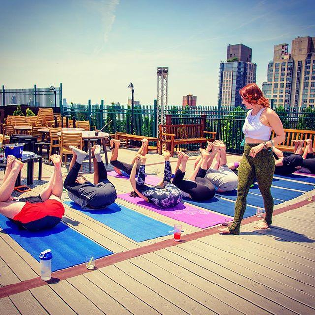 Good form, guys. 🤸🏼♀️ . This week: . Drunk Yoga Tuesday at @drexlersnyc 6pm + @ourwickedlady Thursday at 4pm and @solfirebk Thursday at 6:30pm. 🥂⠀ .⠀ .⠀ .⠀ .⠀ ⠀ #drunkyoga #dodrunkyoga #drunkyogacommunity #motivationalquotes #inspiration #motivational #yogaclass #instagood #goodvibes #goodvibesonly #drunkyogagirl #yoga #yogateacher #youareenough #empoweredwoman #wine #cheers #winelover #wineoclock #winetime #wineyoga #yogaeverydamnday #drunkyogaeverydamnday #namaste #namasteresponsibly #namacheers #drunkyogaclass #blessed