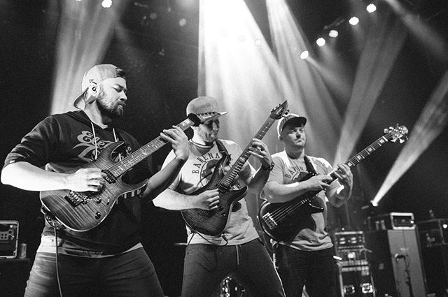 The 3 stooges - Buffalo, NY - 2017 #protestthehero #buffalo #livemusic #fartlord