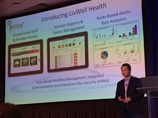 Alex Go, Founder & CEO of LivWell Health speaking on care delivery innovation.