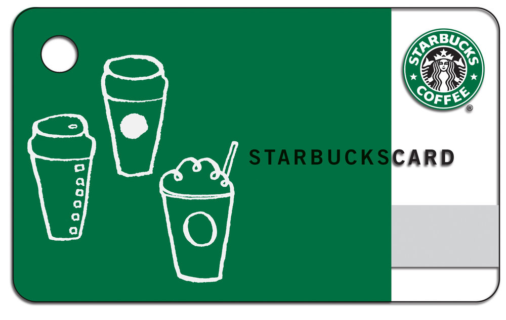 Stop by our booth and enter to win a $100 Startbucks Card.
