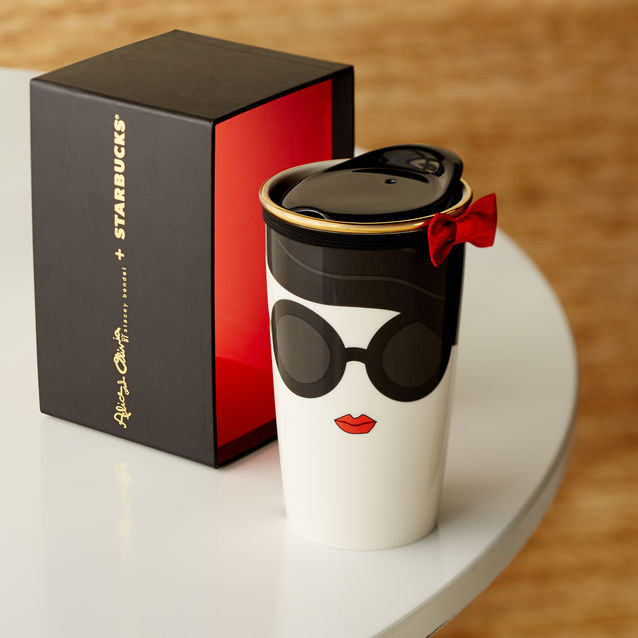 Right Now: Alice + Olivia Collaboration With Starbucks U2014 Me Actually U2014  Mixing Life And Love