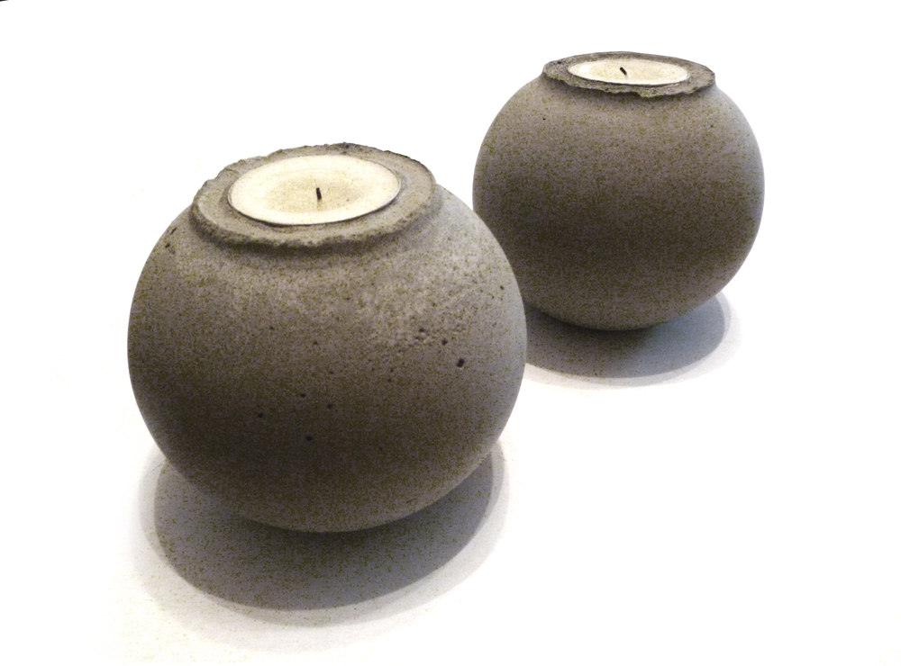 "Sphere Tea Lights_3.5""x3.5"""