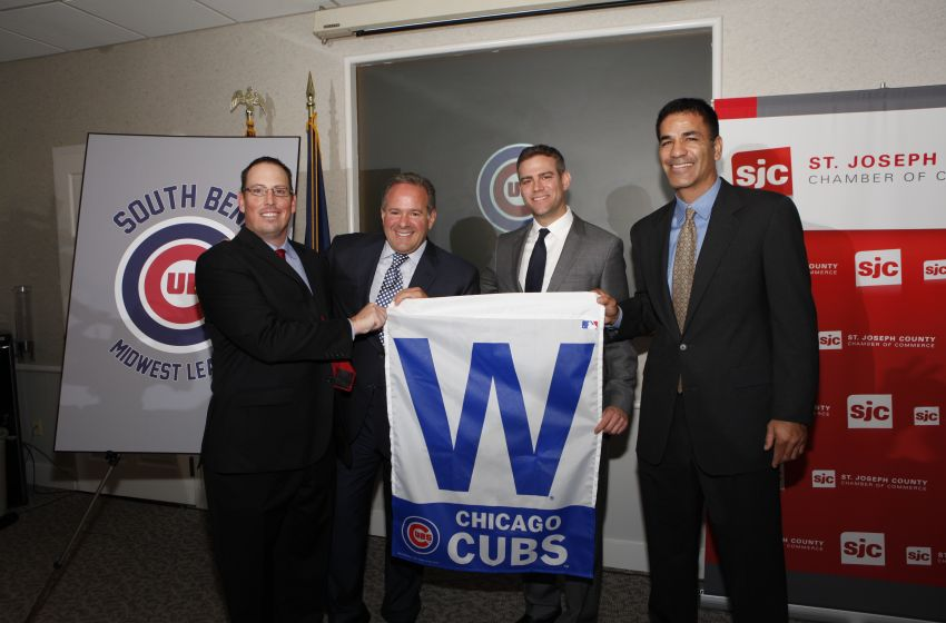 September 18, 2014 – Welcoming the Cubs to South Bend, Indiana