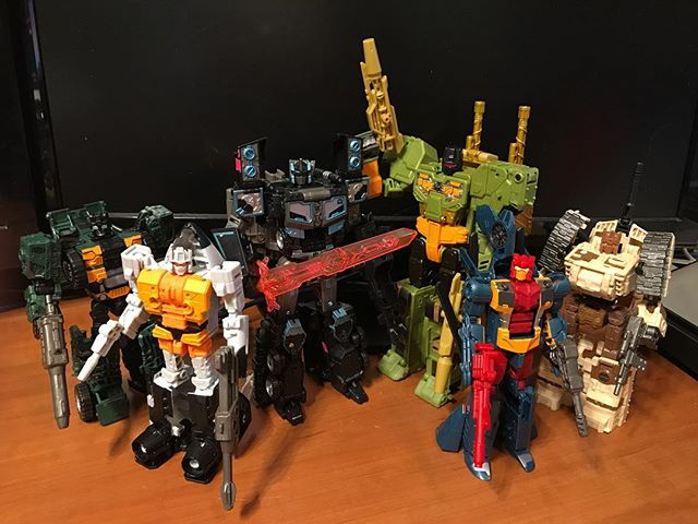 RID Decepticons: Rollbar, Movor, Scourge, Mega-Octane, Ro-Tor, and Armorhide #transformers
