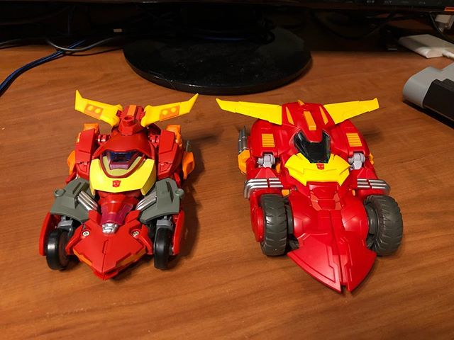 SXS Hot Flame and MMC Calidus #transformers