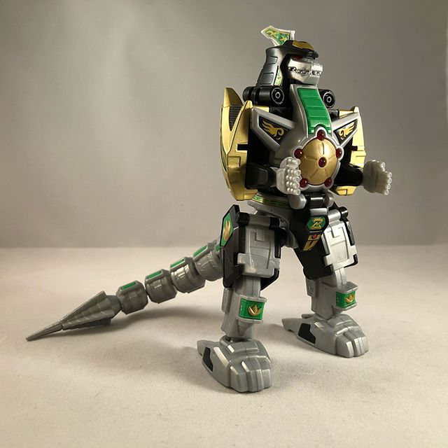Super Mini Pla Dragon Ceasar (Dragonzord) with Daizyuzin (Megazord) #powerrangers