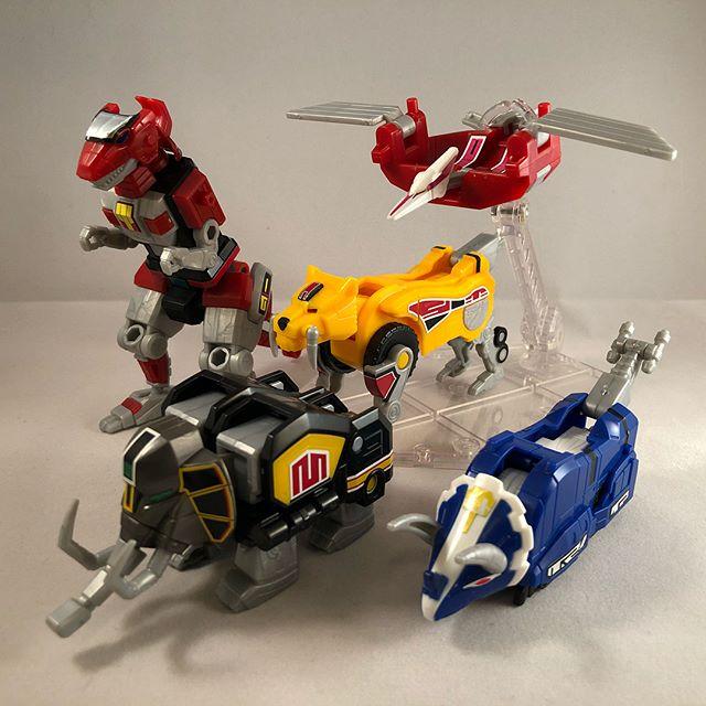 Super Mini Pla Daizyuzin (Megazord) #powerrangers