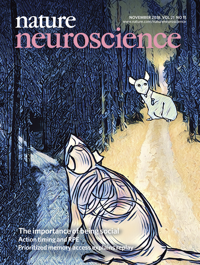 Cover Artwork for Nature Neuroscience