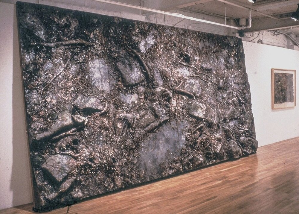 "Ancient Silence     installed as part of ""Terraforms"" solo exhibition at Hamilton Artist's Inc, 1995"