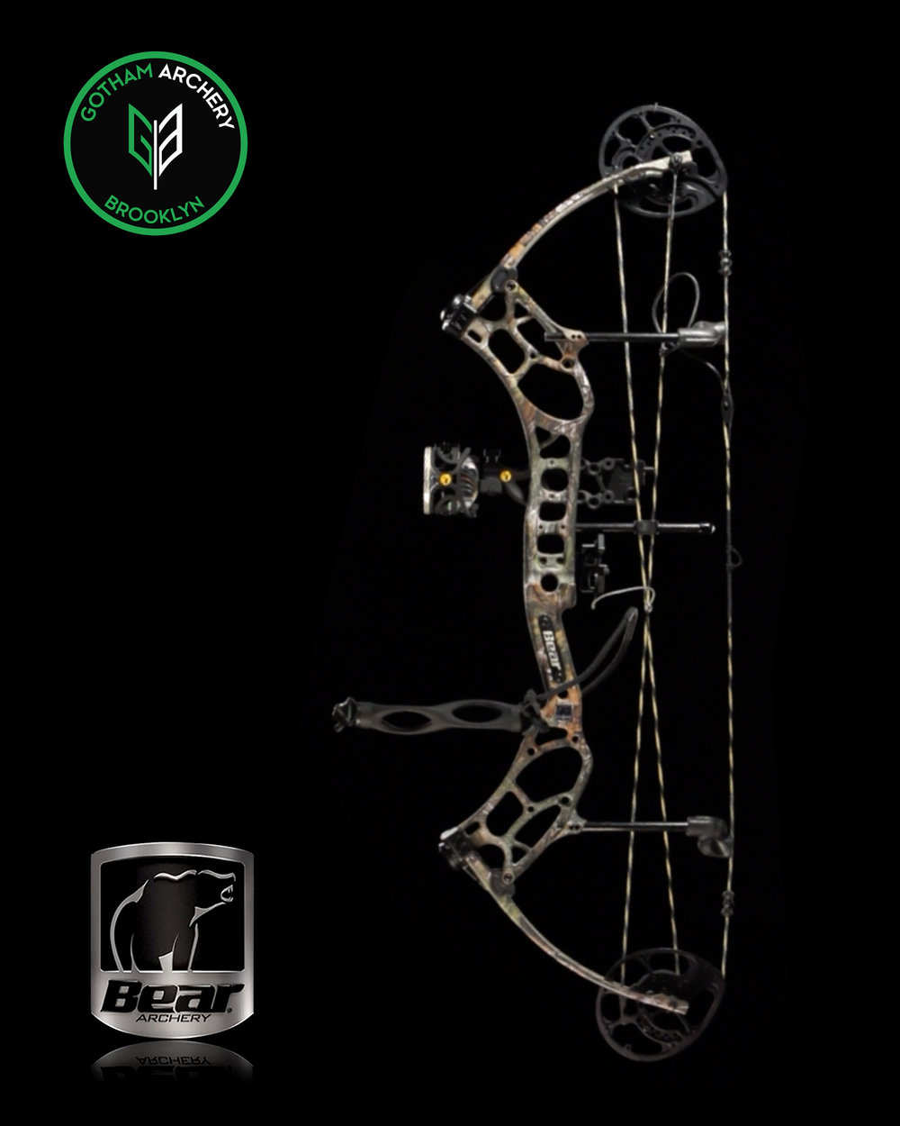 Gotham Archery Bear Legend Series LS2