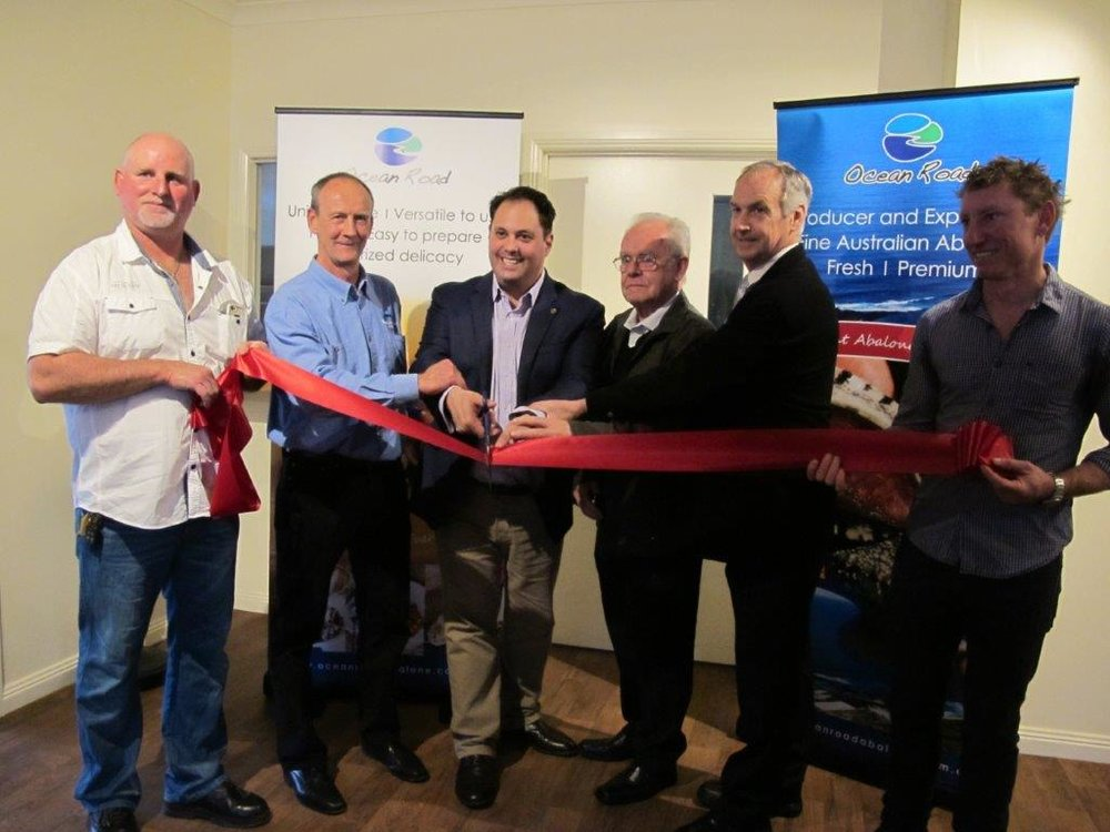 The Hon. Philip Dalidakis, Minister for Small Business, Innovation and Trade, conducted the ceremonial ribbon cutting.