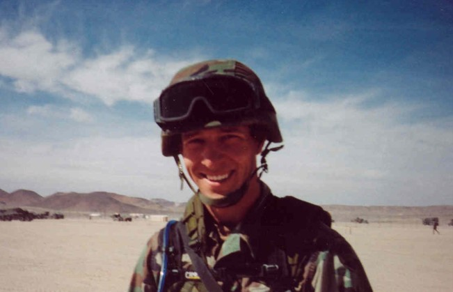 Specialist Trevor Anthony Win'E, of Orange County, California, while serving as the Gunner on the lead truck in a convoy in Iraq on 30 April 2004, was injured in an attack by an improvised explosive device (IED). On 1 May 2004, he died from injuries sustained from that attack. He is survived by his parents, Rick and Debi, brother and sister Todd and Tracy and their families, grandparents Donn and Ruth Ann Curran and Gerry Win'E, and numerous aunts, uncles, and cousins and his dog Betty.