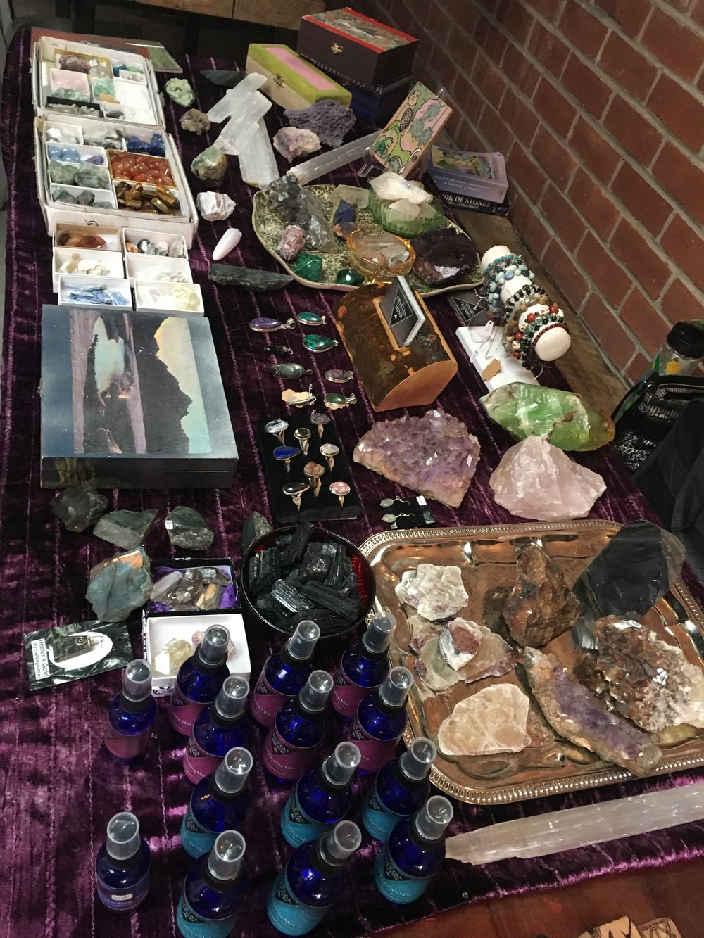 I'll be back at it, vending in Cassadaga on Saturday May 12th!  I've got a lot of new inventory and great surprises to unveil to you all. Come out and see the new directions I'm headed in creatively! There will be a plethora of vendors, psychics, mediums, healers and artists there displaying a wide variety of spiritual gifts and talents. If you haven't been to this sleepy little psychic town, it's definitely worth a day trip to get to know your local psychic hub in Volusia County.  I'll be set up in the Andrew Jackson Davis building, which is indoors and connected to the Cassadaga Camp Bookstore. I can't wait to reconnect with my Cassadaga community and friends. I look forward to seeing you all there and making lots of new friends and connections.