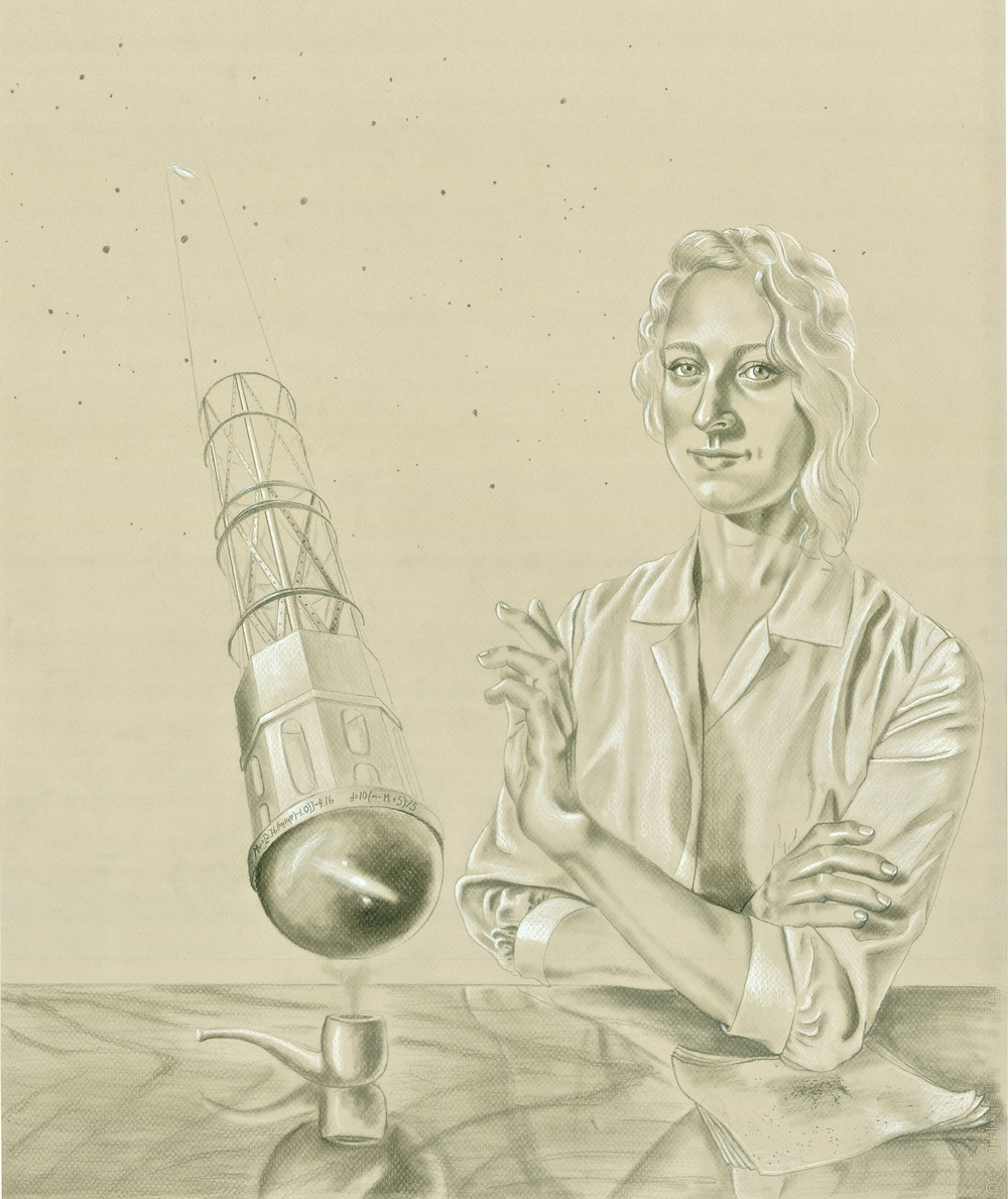 Preliminary Drawing for Henrietta Swan Leavitt