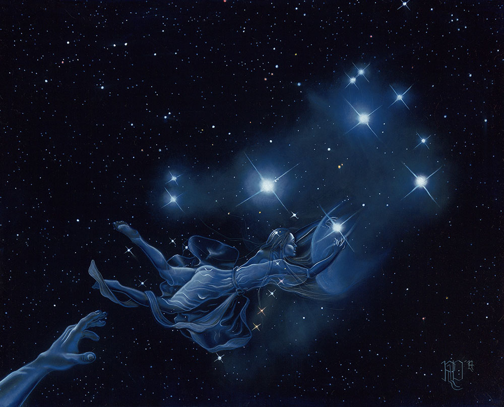 Pleiades, or Merope Escapes Orion, or 'No Means No'