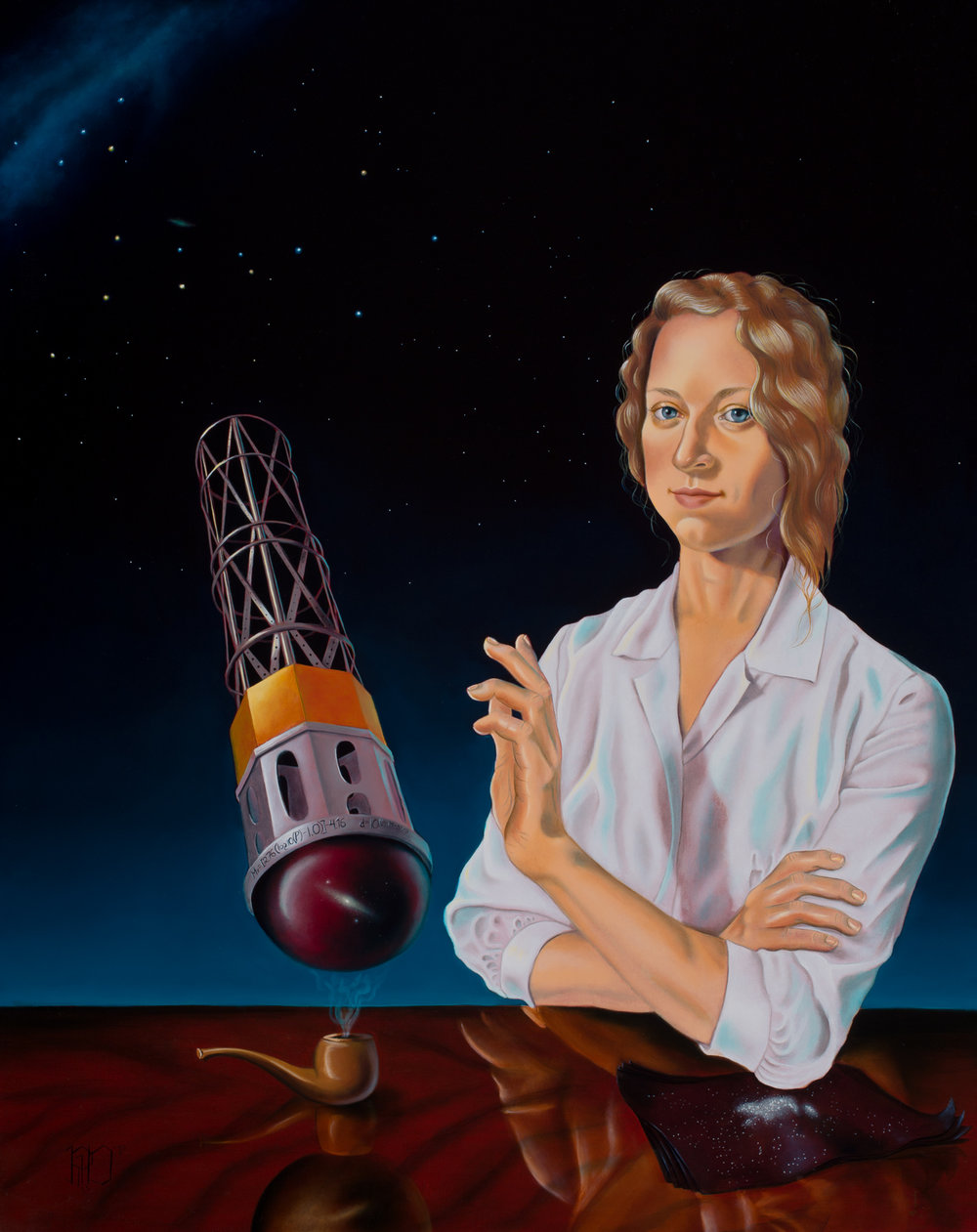 'Henrietta Swan Leavitt,' or 'This is not Edwin Hubble's Pipe'