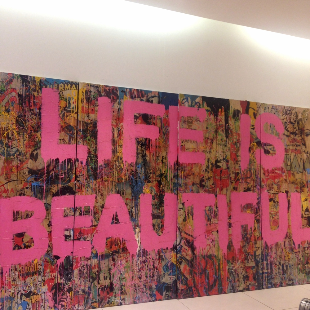 A random visit to the Mr. Brainwash Gallery!