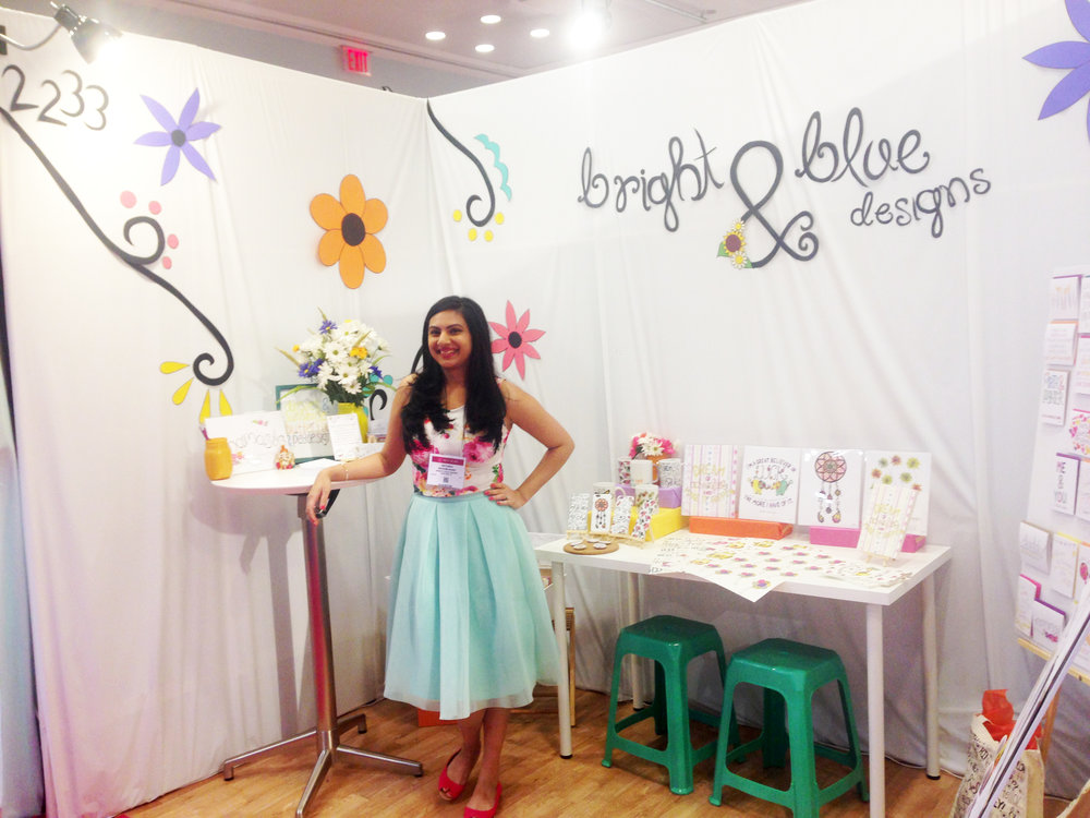 My collection officially launches at the National Stationery Show, in 2015!