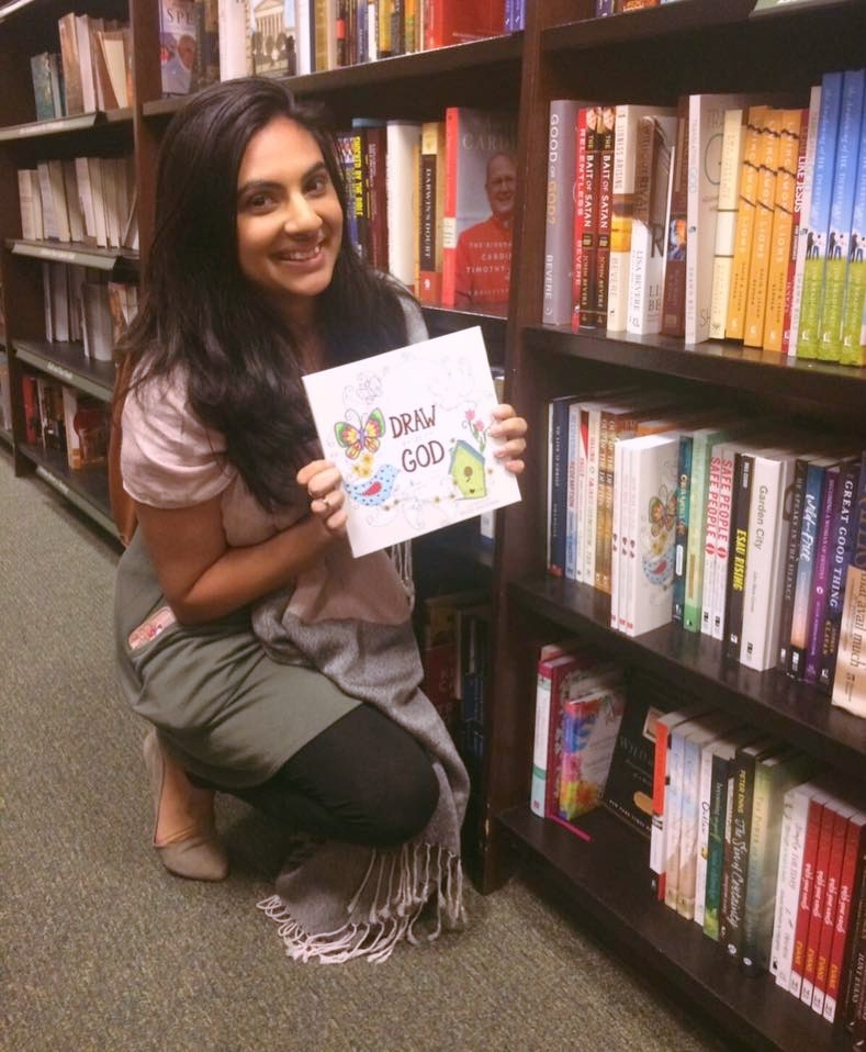 Checking out my book at the local Barnes & Noble! Woo!