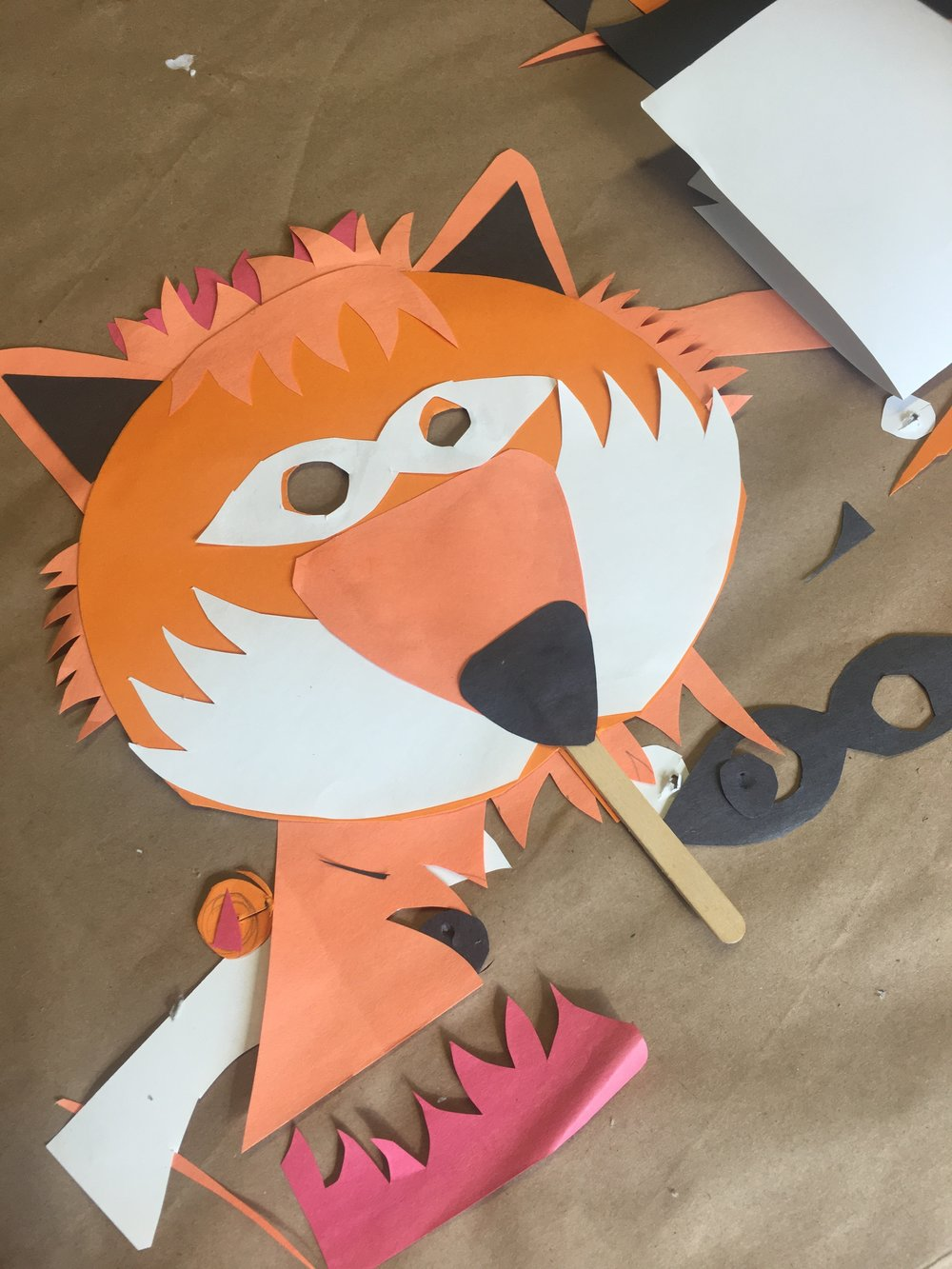 FOX PAPER CRAFTING PAPER CUT MASK.JPG