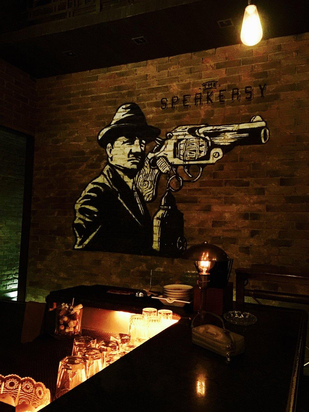 The Speakeasy bar in downtown Jakarta. Nice spot.
