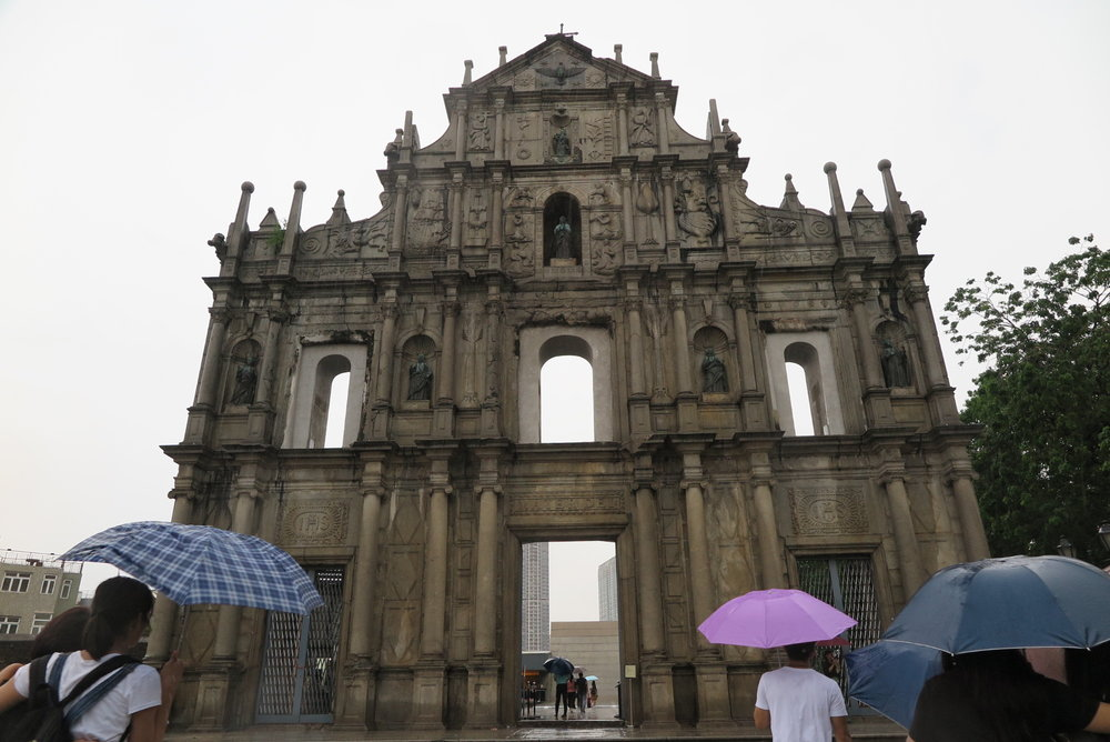 Ruins of St. Paul's in Macau
