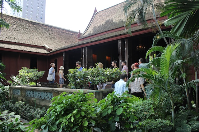 Touring the Jim Thompson House (no photos allowed inside)
