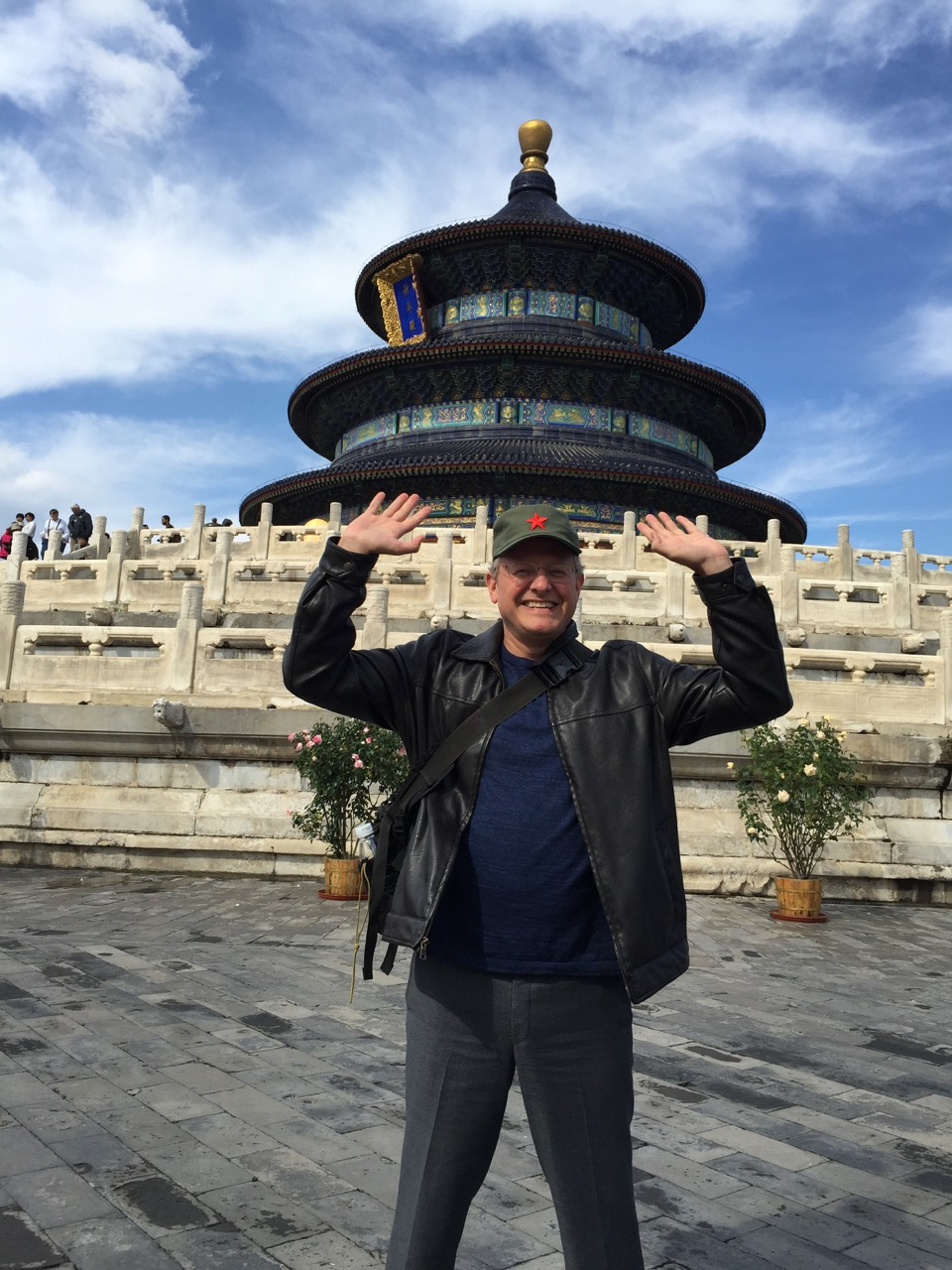 Holding up the Temple of Heaven