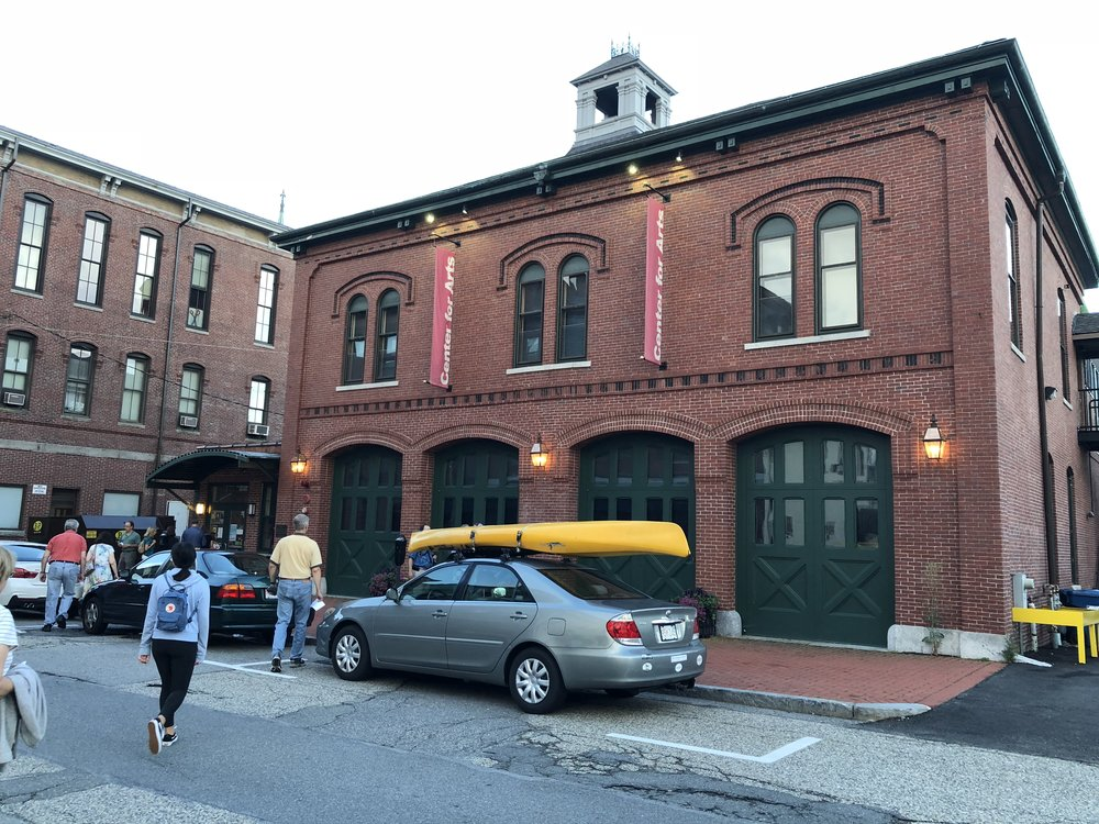 The Natick Arts Center, a former 19th century fire station, where the Dolby event was held