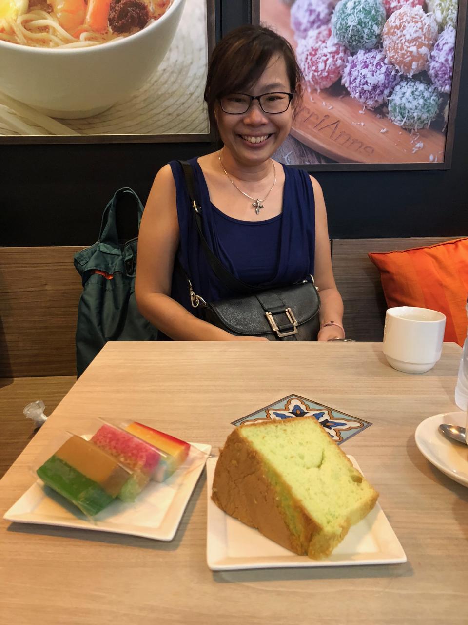 Tea at Bugits with Adeline Foo