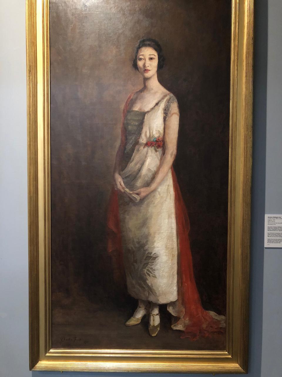 Madame Wellington Koo was Peranakan too (Peranakan Museum in Singapore)