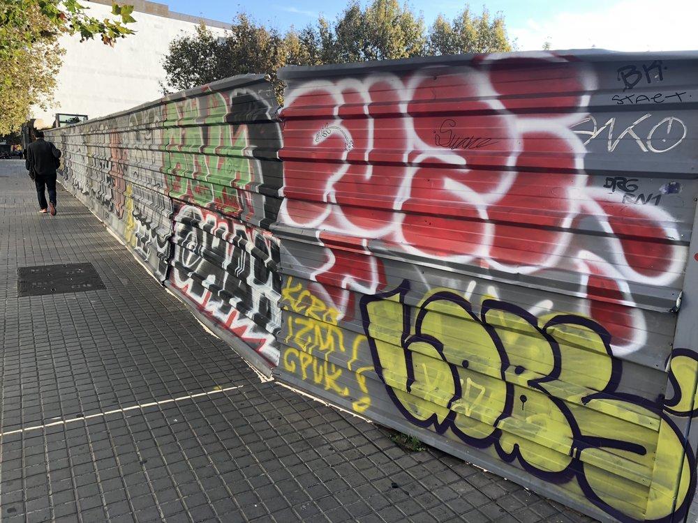 Barcelona is one gigantic museum dedicated to street art
